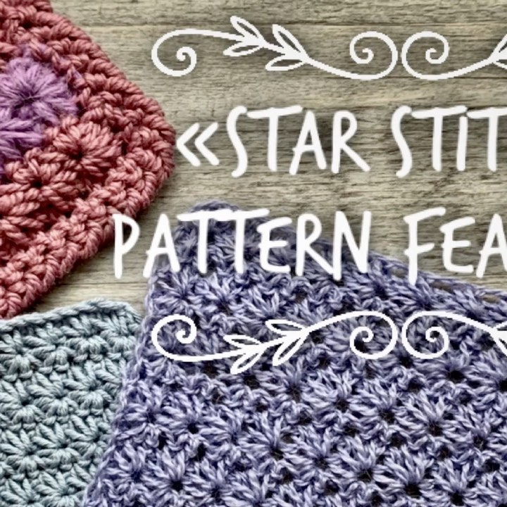 Great Star Stitch Pattern Tutorial