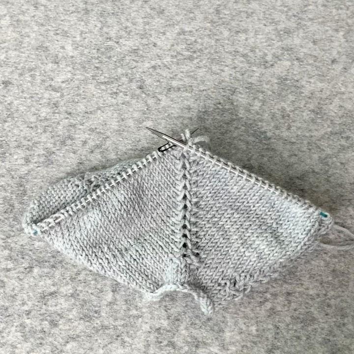 Top Down Increase Knitting Tutorial