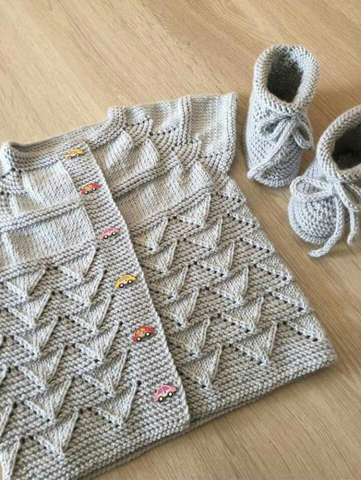 Knit Kid Cardigan