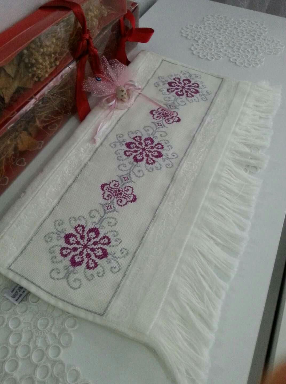 Cross-Stitch Towel