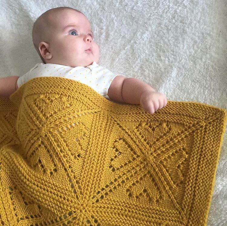 Baby Blanket Granny Square Pattern