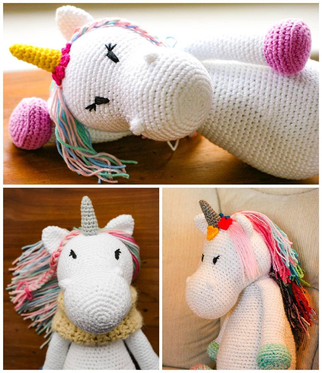 Amigurumi Türkiye-Unicorn Tarifi | 1250x1080