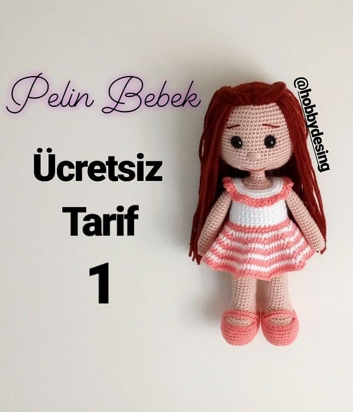 Amigurumi Pelin Free Pattern Turkish