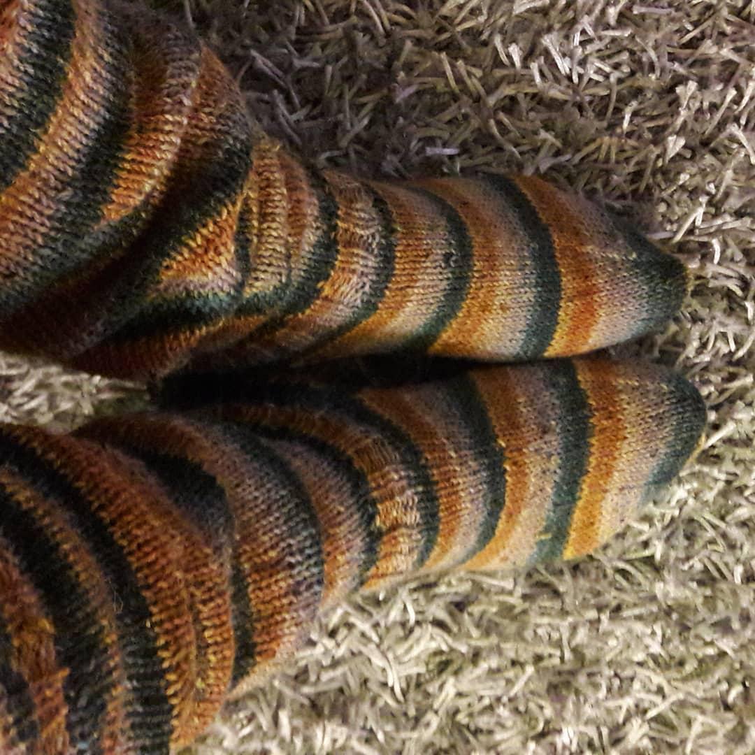 Knitting Socks Pattern