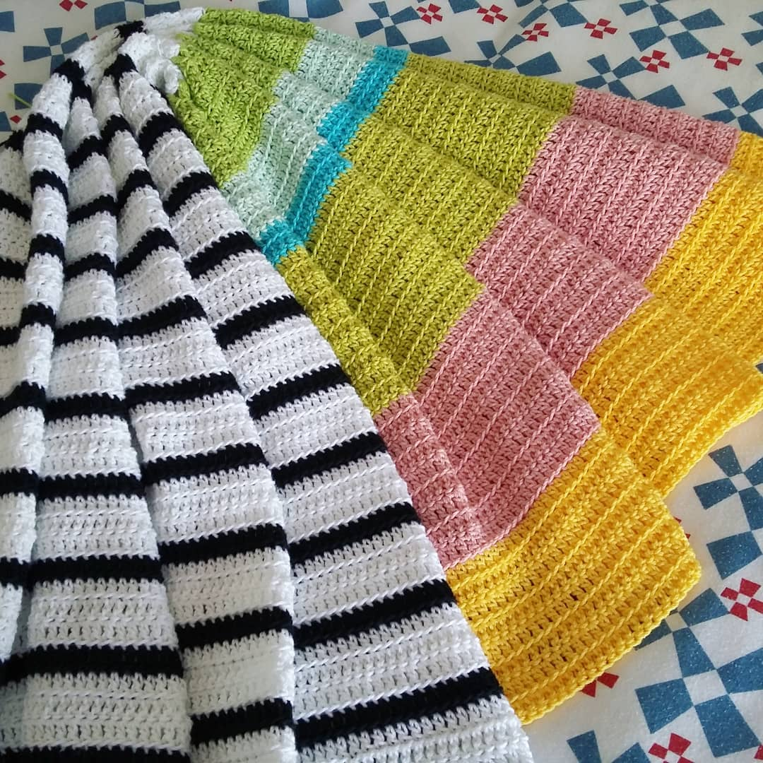 Black White And Colours Beauty Blanket
