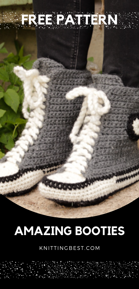 Amazing Knitted Booties