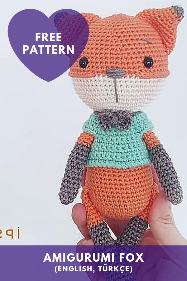 Amigurumi Fox [Free Pattern] [English,Türkçe]