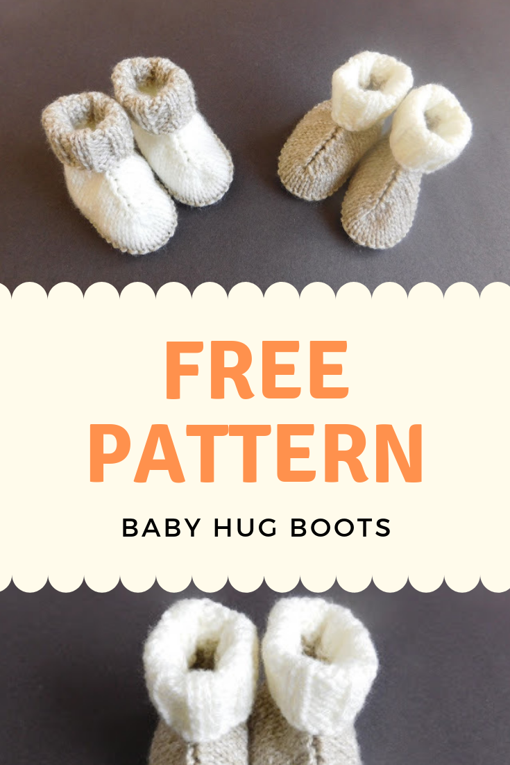 Baby Hug Boots [Free Pattern]