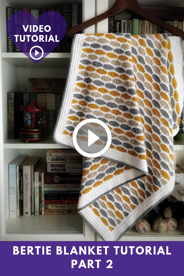 Bertie Blanket Video Tutorial Part 2