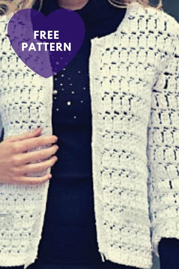 Chanel Crochet Jacket [Free Pattern]