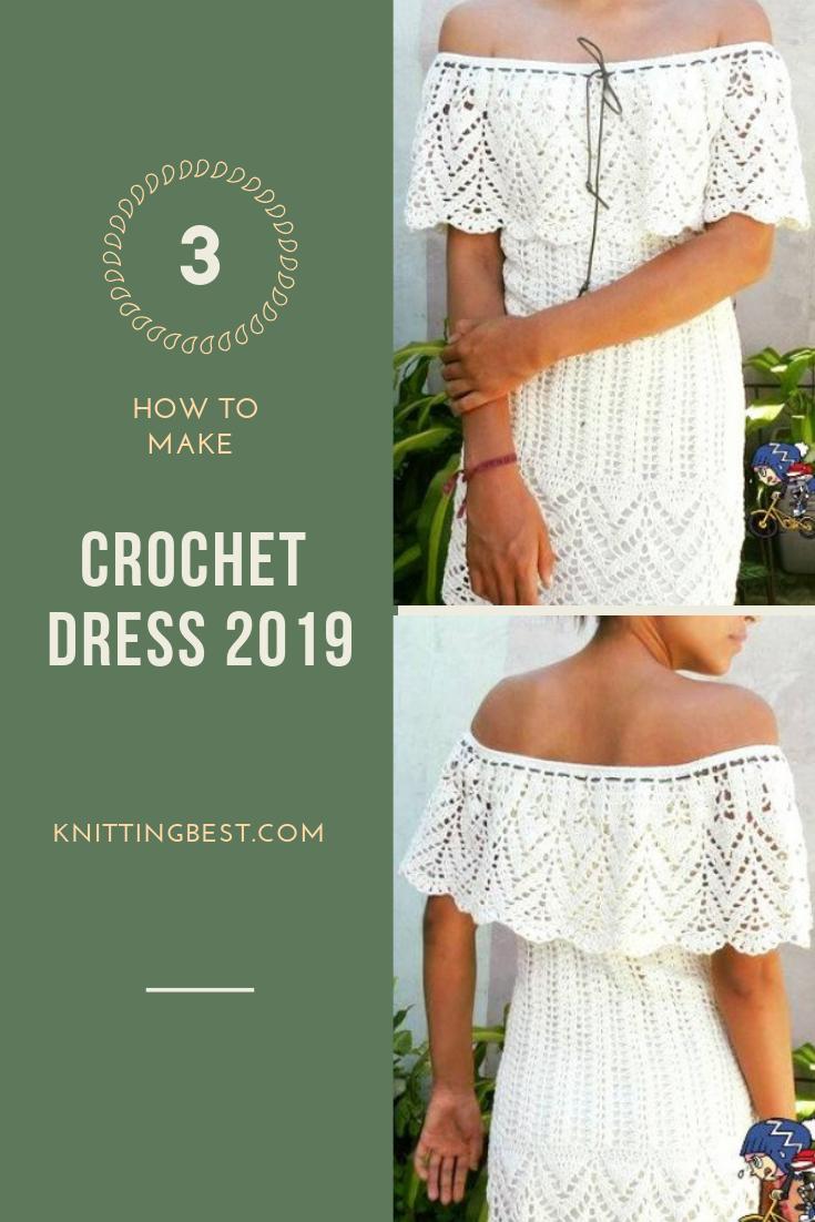 Crochet dress 2019