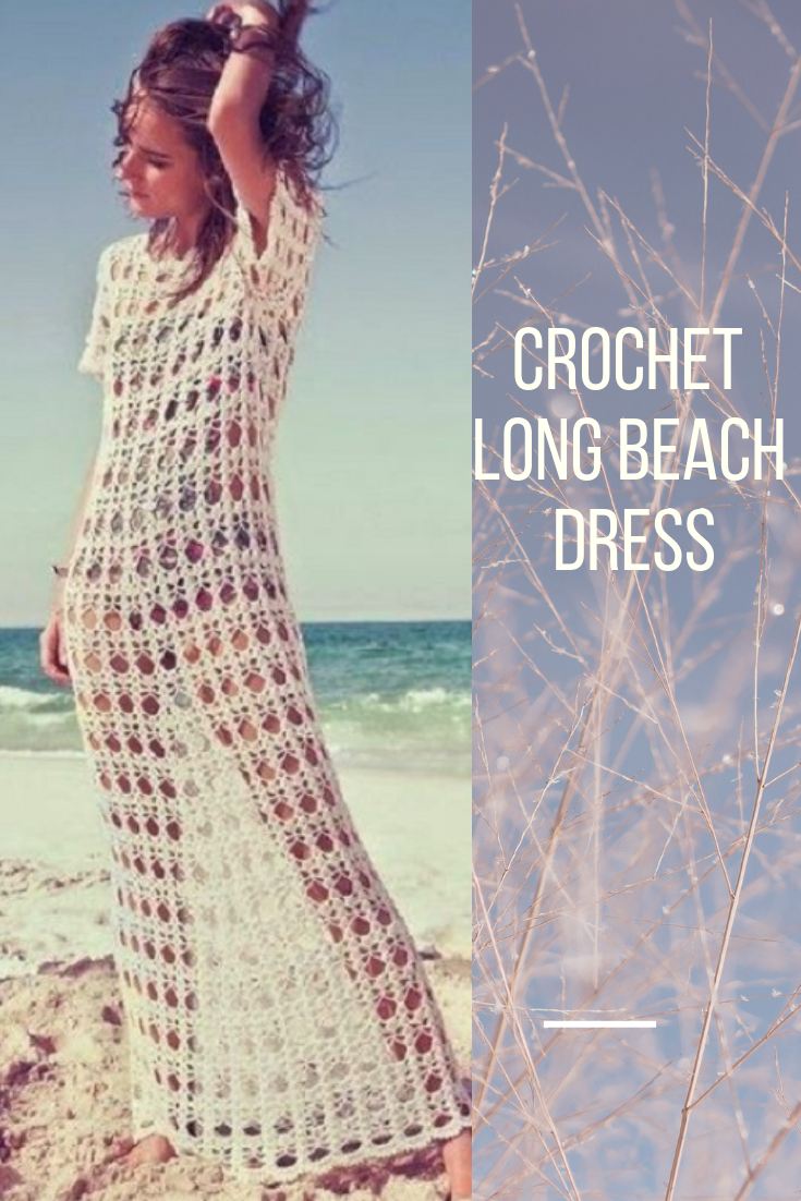 Crochet Long Beach Dress