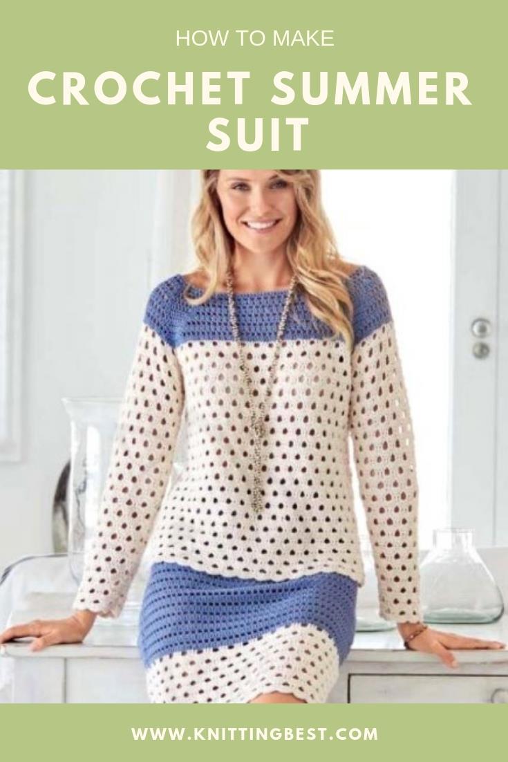 Crochet Summer Suit