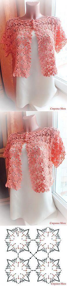 Bolero Jacket Crochet