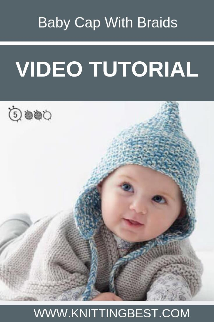 Free Pattern Baby Cap With Braids