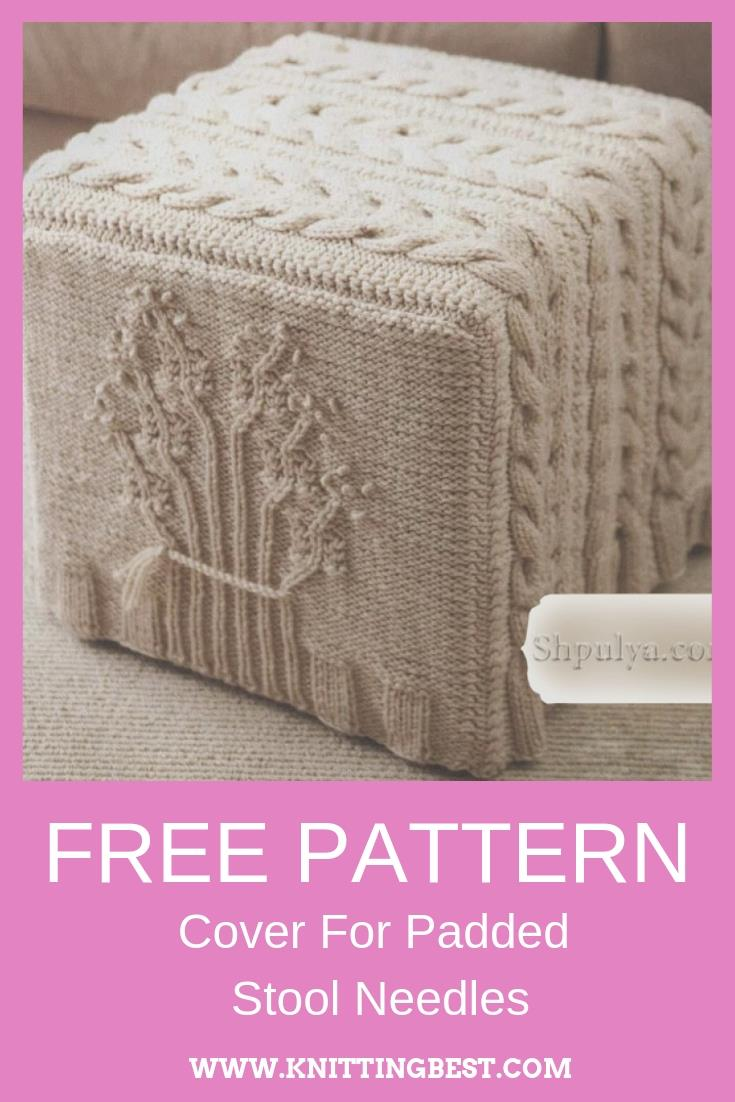 Free Pattern Cover For Padded Stool Needles