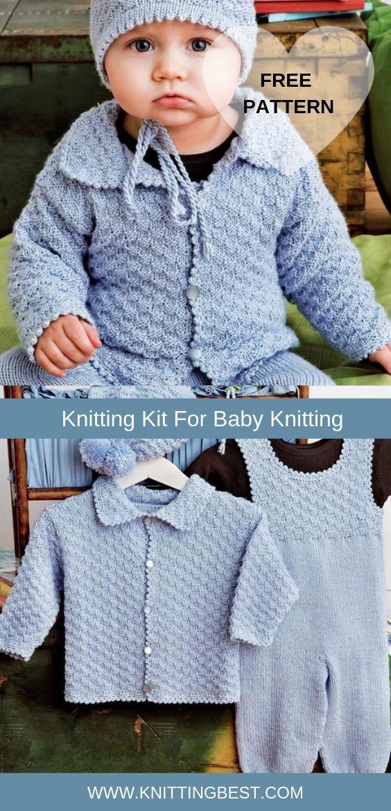 Free Pattern Knitting Kit For Baby Knitting