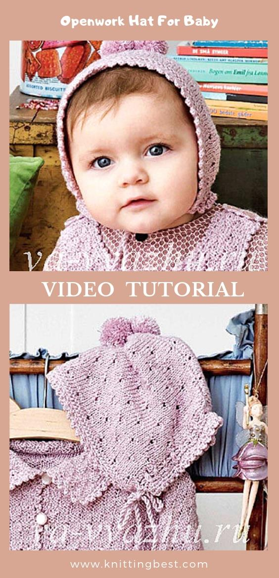 Free Pattern Openwork Hat For Baby