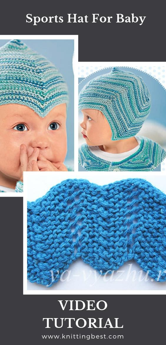 Free Pattern Sports Hat For Baby