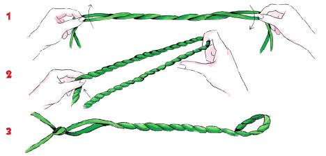 How To Twist The Drawstring