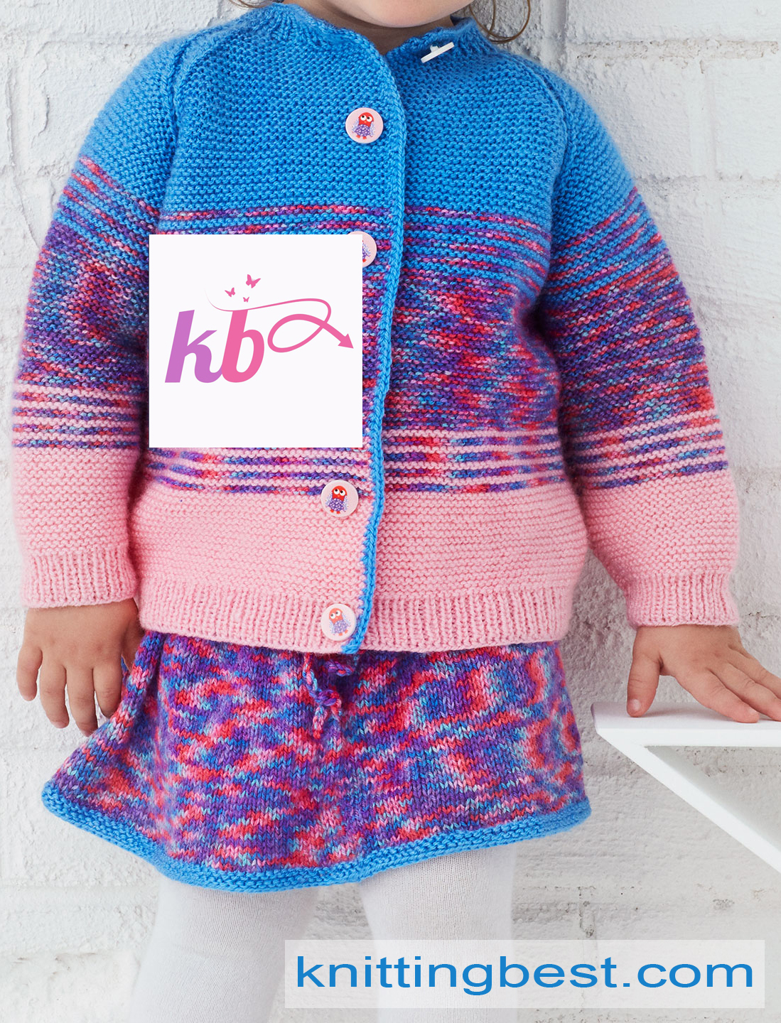 Colorful knitting for Kids