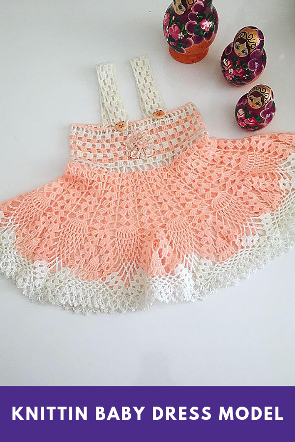 Knittin Baby Dress Model