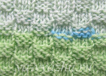 """Knitting Pattern """"Chess 3 x 3"""""""