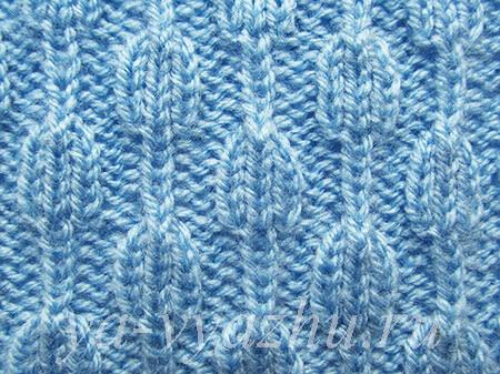 """Knitting Pattern """"Hanging Beads"""""""
