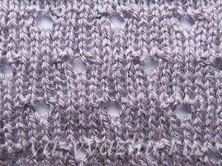 "Knitting Pattern ""Holes"""