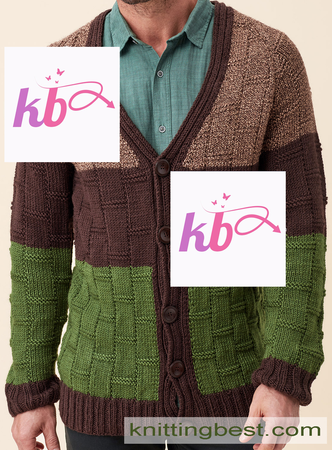 Knit Man Cardigan