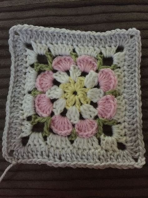 Just Peachy Blossom 6x6 Pattern