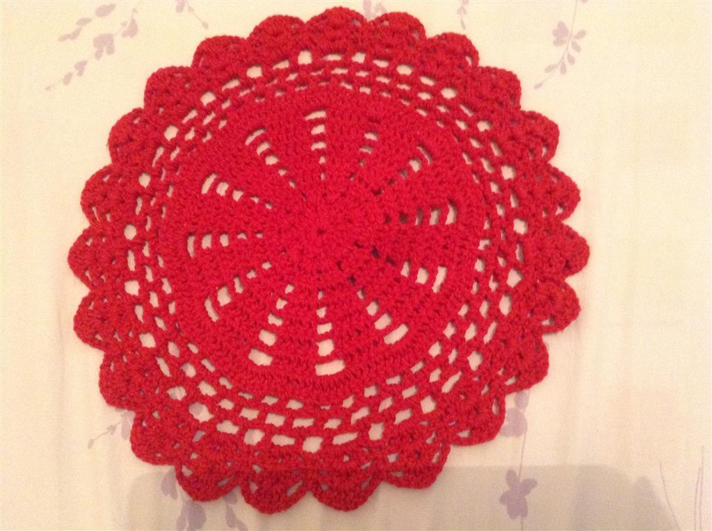 Sousplat em Crochet