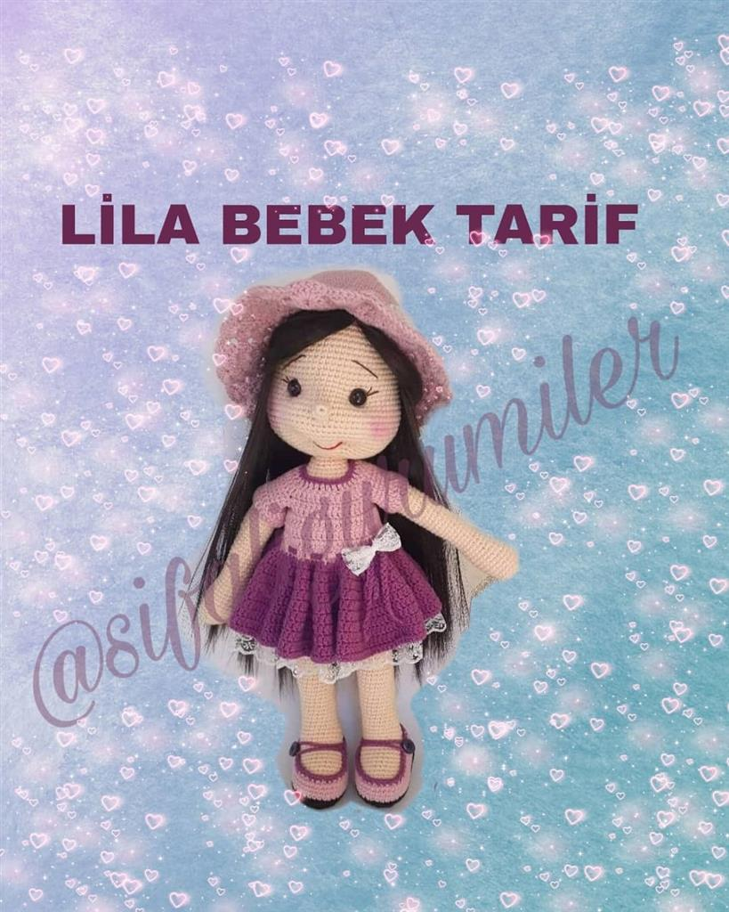 [Free Pattern] Lila Amigurumi Baby