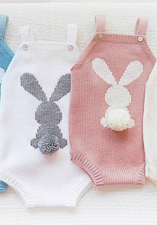 Schemes of rabbits knitting