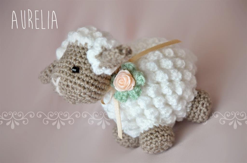 Little sheep amigurumi