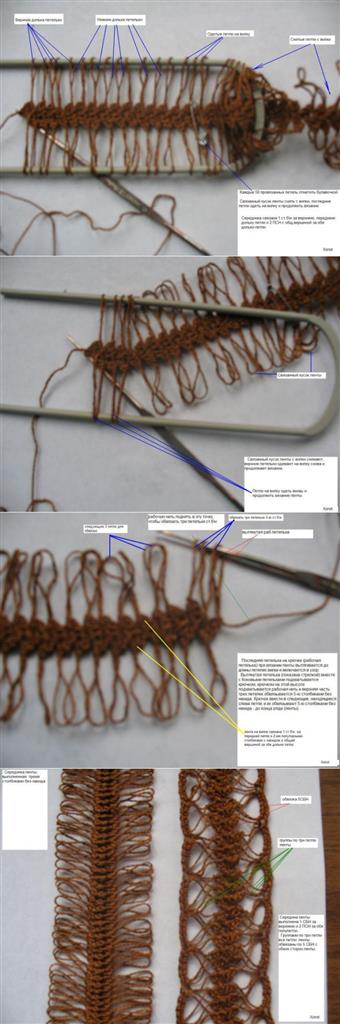Step By Step Hairpin Lace Tutorial