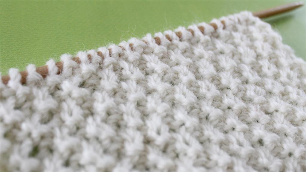 GARTER CHECKERBOARD STITCH PAT