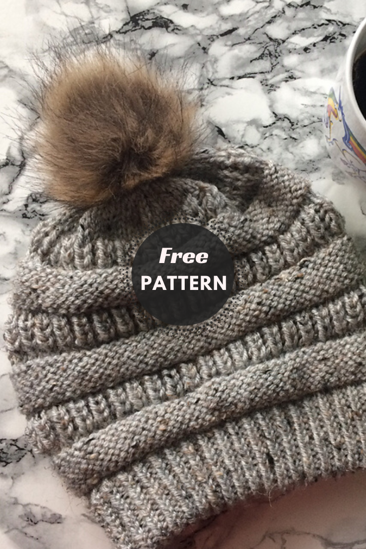 "Super Popular ""C.C Beanie"" Hat Pattern And Video Tutorial"