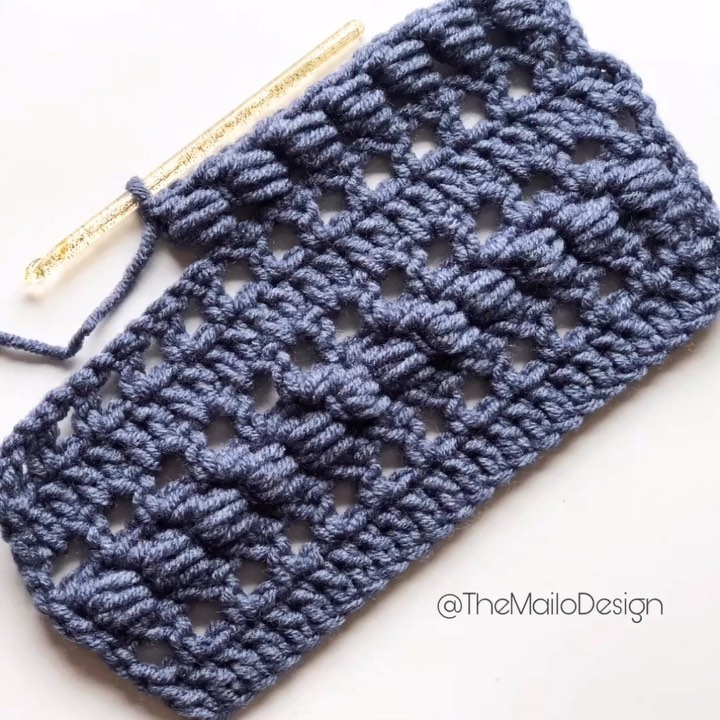 Crochet Wrap Around Stitch