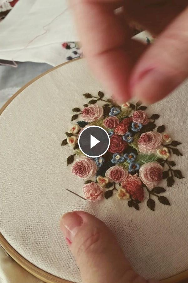 Embroidery Knitting - Video Tutorial