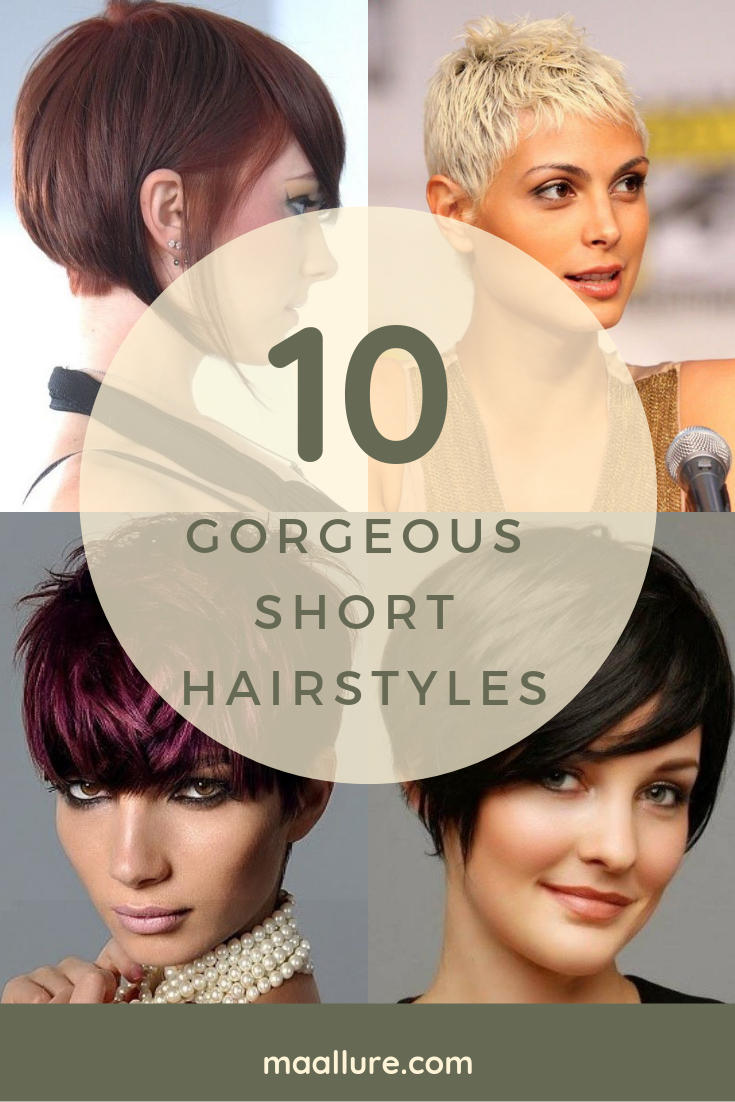 10+ Gorgeous Short Hairstyles