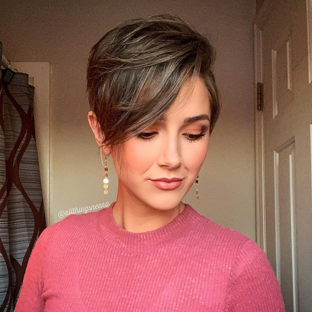 Great Pixie Cut With Video