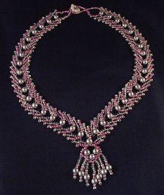 Seed Bead Necklace - Diy Crafts