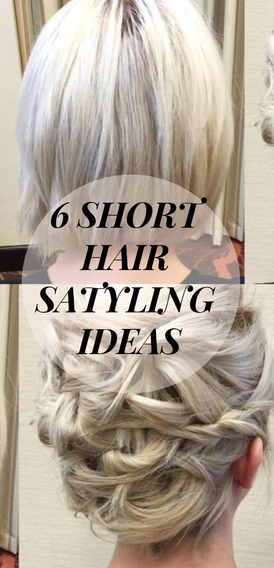 hairstyle for short hair