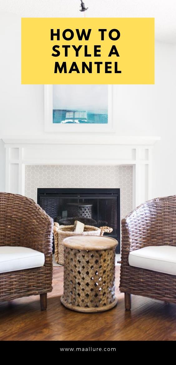 How to Style a Mantel + More Decorating Ideas