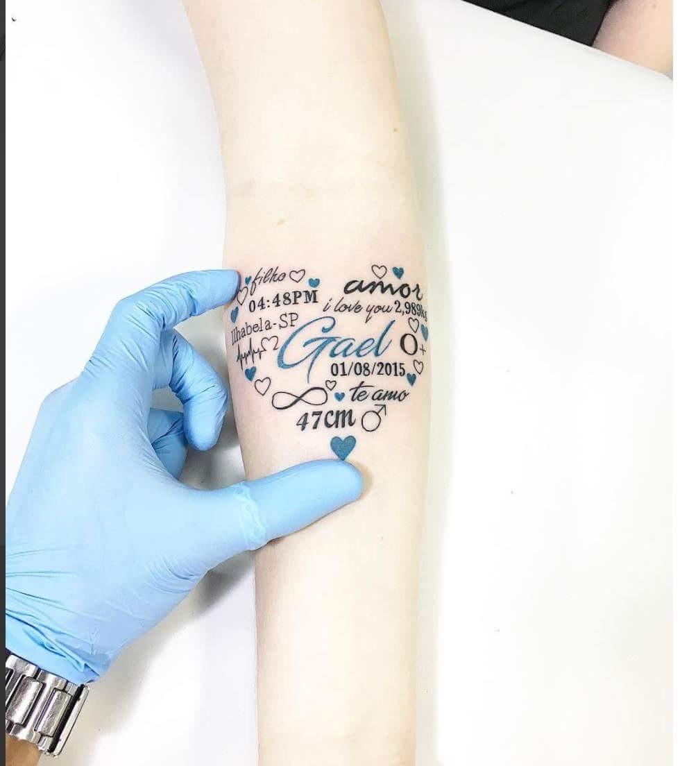 Name Tattoo Idea