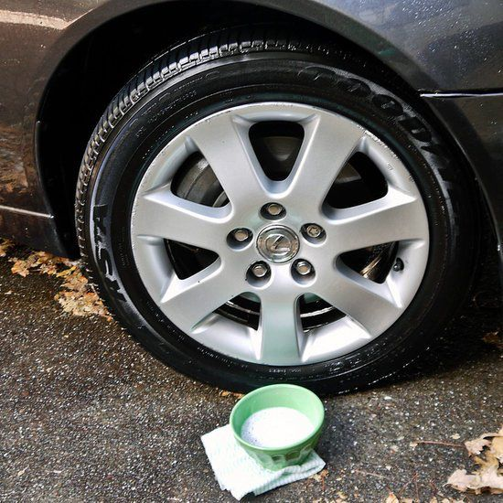 8. Keep your rims sparkling using this cheap DIY cleaner