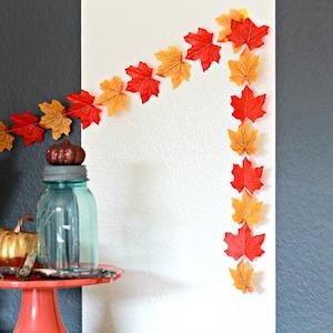 Fall Leaves Garland