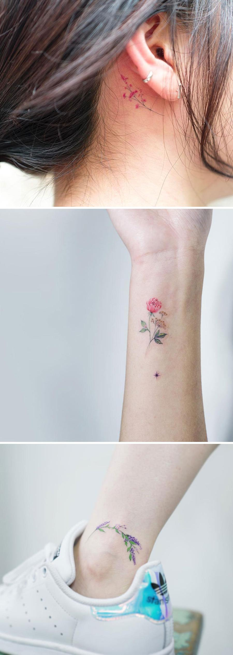 The Floral Tattoo