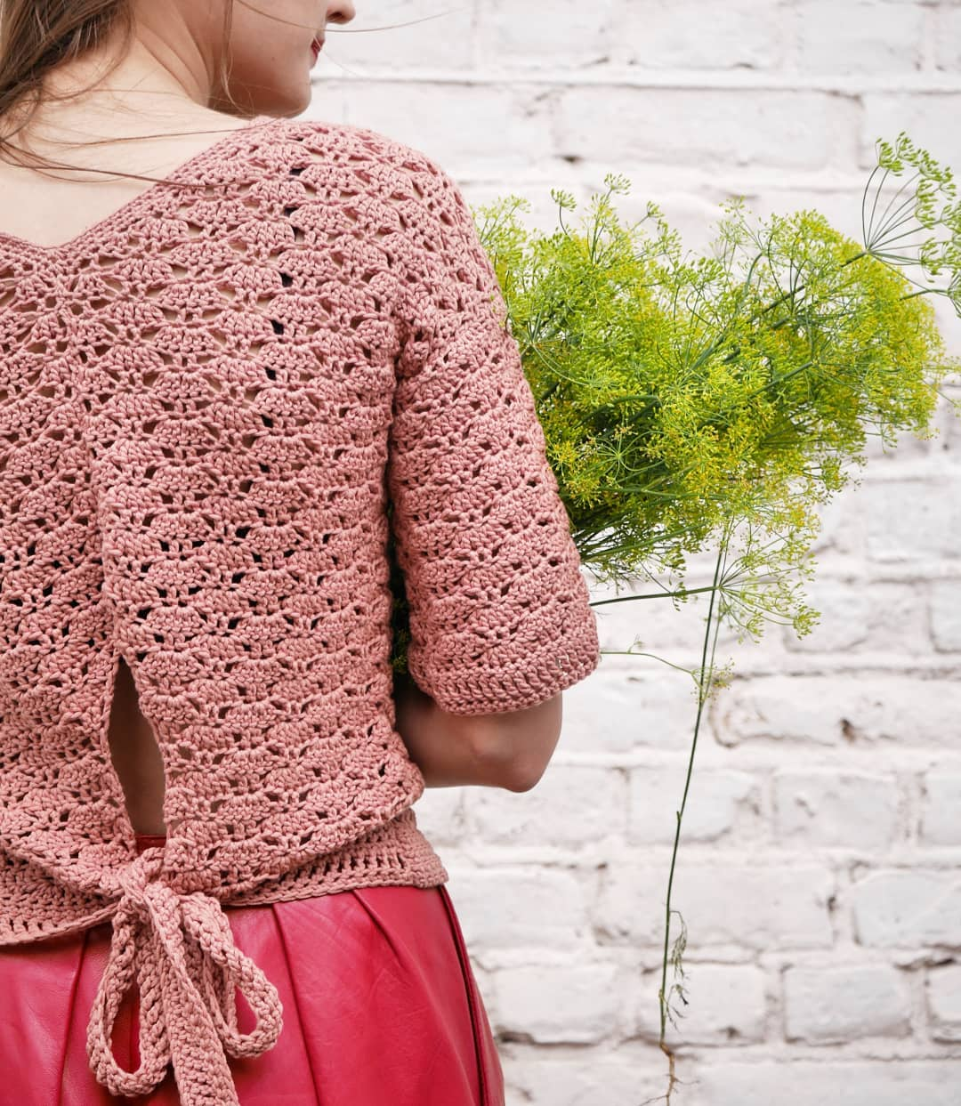 "Bruni Top Started As A ""I'll Just Take T Brunitop - Crochet Summer Top"